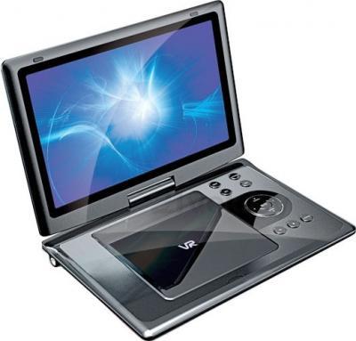 Портативный DVD-плеер VR PDV-T090FV (Silver) - общий вид