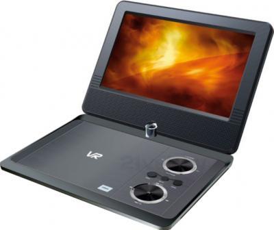Портативный DVD-плеер VR PDV-T090KV (Silver) - общий вид