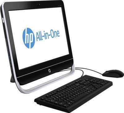 Моноблок HP Pro 3520 (D1V78EA) - вид сбоку
