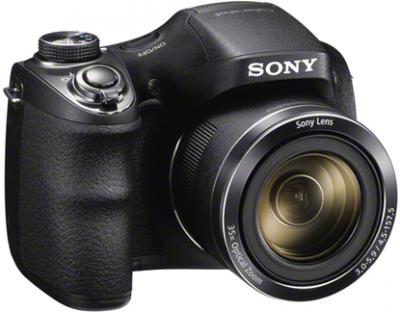 Компактный фотоаппарат Sony Cyber-shot DSC-H300 - общий вид