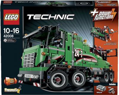 Конструктор Lego Technic Машина техобслуживания (42008) - упаковка