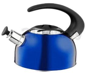 Чайник со свистком Calve CL-1459 - в синем цвете