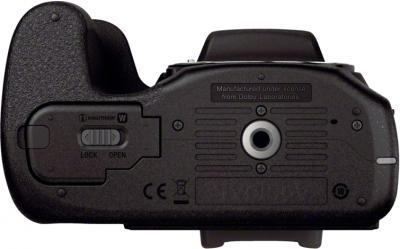 Беззеркальный фотоаппарат Sony ILC-E3000KB - вид сзади