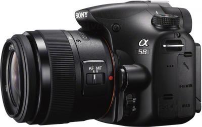 Зеркальный фотоаппарат Sony SLT-A58Y - общий вид