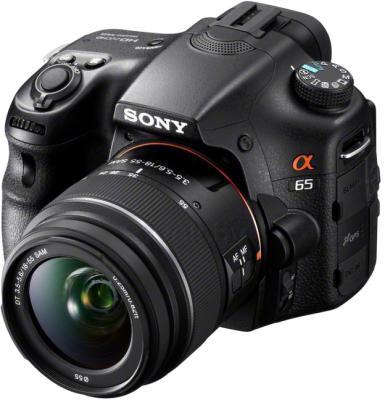 Зеркальный фотоаппарат Sony Alpha SLT-A65L - общий вид