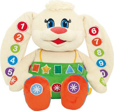 Развивающая игрушка Mommy Love Зайка-Знайка ZAZ01\M - общий вид