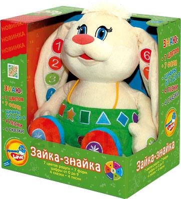 Развивающая игрушка Mommy Love Зайка-Знайка ZAZ01\M - упаковка