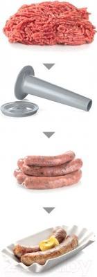Мясорубка электрическая Bosch MFW68640 - насадка для колбас