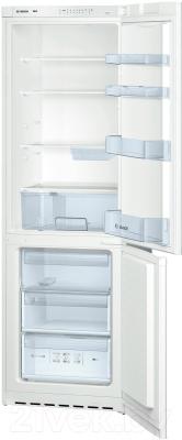 Холодильник с морозильником Bosch KGV36VW13R - общий вид