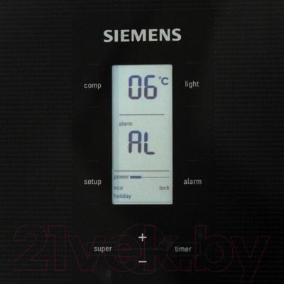 Холодильник с морозильником Siemens KG49NSB21R