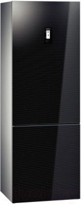 Холодильник с морозильником Siemens KG49NSB21R - общий вид