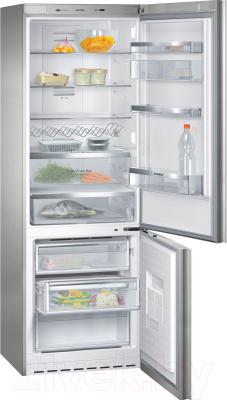 Холодильник с морозильником Siemens KG49NSW21R - внутренний вид