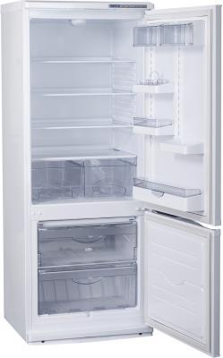 Холодильник с морозильником ATLANT ХМ 4009-100 - внутренний вид