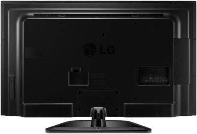 Телевизор LG 47LN548C - вид сзади