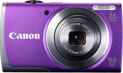 Компактный фотоаппарат Canon PowerShot A3500 (Purple) - вид спереди