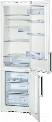 Холодильник с морозильником Bosch KGE39AW25R - общий вид