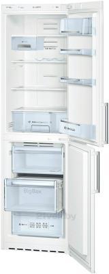 Холодильник с морозильником Bosch KGN39XW25R - общий вид