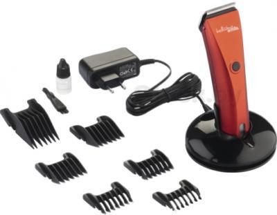 Машинка для стрижки волос Ermila Bellissima 1870-0046 (Red) - весь комплект