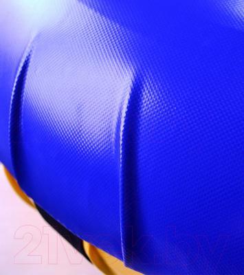 Тюбинг-ватрушка Зубрава ПВХ 700mm (синий/желтый)