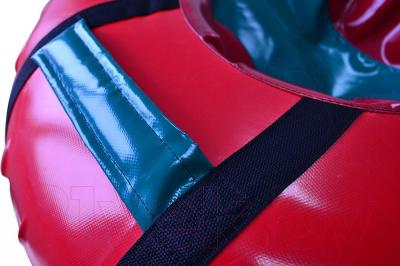 Тюбинг-ватрушка Зубрава ПВХ 800mm (красный/синий)