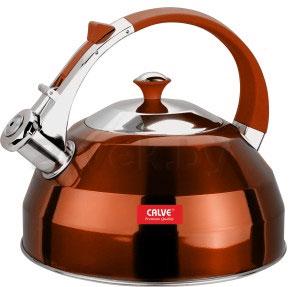 Чайник со свистком Calve CL-1462 - в оранжевом цвете