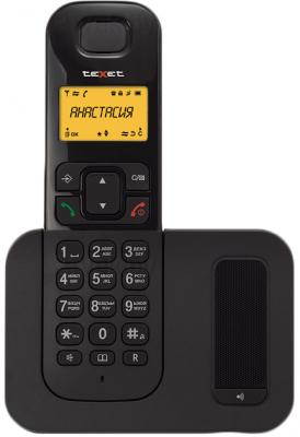 Беспроводной телефон TeXet TX-D6605A (Black) - общий вид
