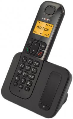 Беспроводной телефон TeXet TX-D6605A (Black) - полубоком