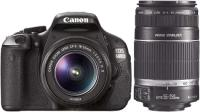 Фотоаппарат Canon EOS 600D Double Kit 18-55mm IS II + 55-250mm IS -