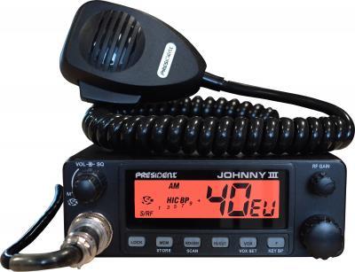Радиостанция President Johnny III ASC - общий вид