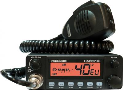Радиостанция President Harry III ASC - общий вид