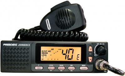 Радиостанция President Johnson II ASC - общий вид