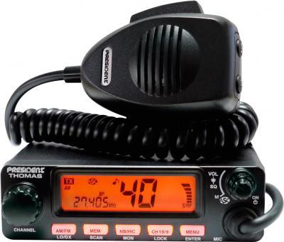 Радиостанция President Thomas ASC (+ микрофон William/Thomas) - общий вид