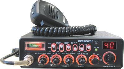 Радиостанция President Jackson II ASC - общий вид