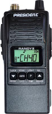 Радиостанция President Randy II P ASC - общий вид