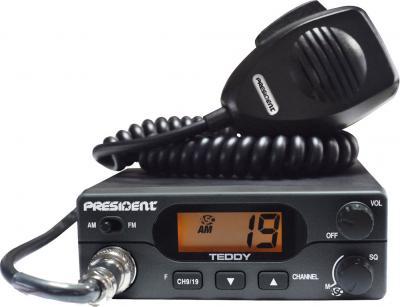 Радиостанция с антенной President Teddy ASC (+ Hawai Export) - общий вид