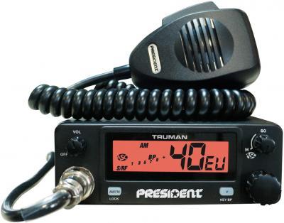 Радиостанция с антенной President Truman ASC (+ Oregon Export) - общий вид