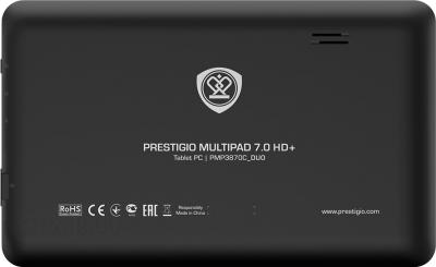 Планшет Prestigio MultiPad 7.0 HD+ 8GB (PMP3870C_DUO) - вид сзади