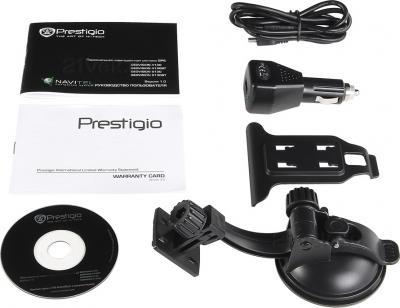 GPS навигатор Prestigio GeoVision 5000 (PGPS5000CIS04GBNV) - комплект