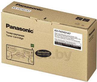Тонер-картридж Panasonic KX-FAT431A7 - общий вид