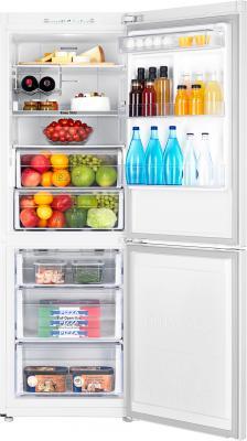 Холодильник с морозильником Samsung RB29FSRMDWW/WT - внутренний вид