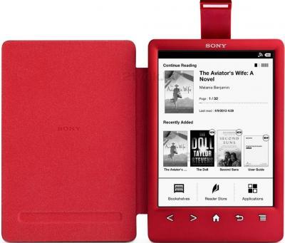 Обложка для электронной книги Sony PRSA-CL30 (Red) - общий вид
