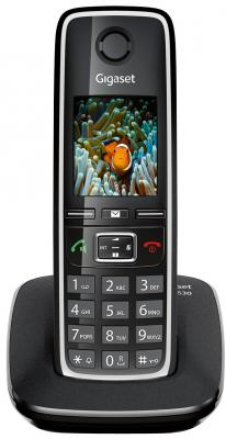 Беспроводной телефон Gigaset C530 (Black) - общий вид
