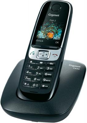 Беспроводной телефон Gigaset C620 (Black) - общий вид
