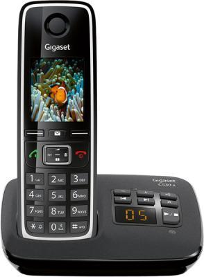 Беспроводной телефон Gigaset C530A (Black) - общий вид