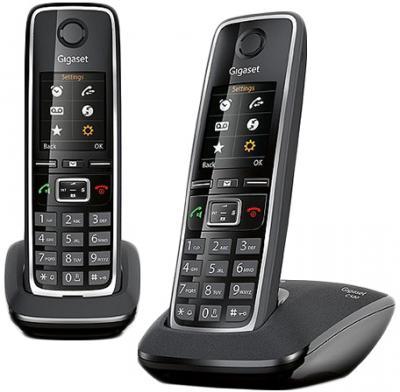 Беспроводной телефон Gigaset C530 Duo (Black) - общий вид