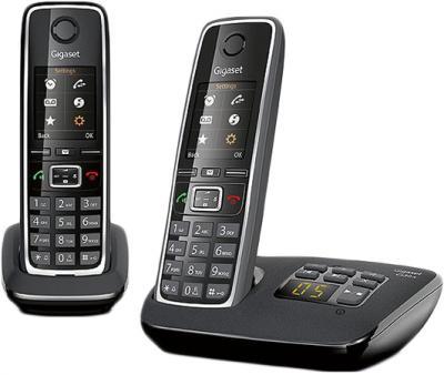 Беспроводной телефон Gigaset C530A Duo (Black) - общий вид