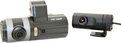 Автомобильный видеорегистратор ParkCity DVR HD 430 - общий вид с дополнительной камерой