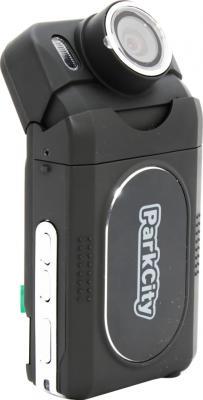 Автомобильный видеорегистратор ParkCity DVR HD 500 (Black) - общий вид с поворотом камеры
