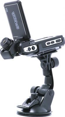 Автомобильный видеорегистратор ParkCity DVR HD 520 - вид сбоку с креплением