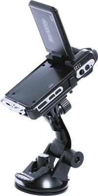 Автомобильный видеорегистратор ParkCity DVR HD 520 - вид сзади с креплением